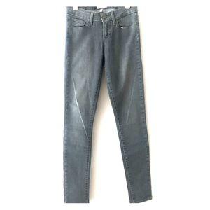 """Paige Denim """"Verdugo Ultra Skinny"""" grey jeans"""
